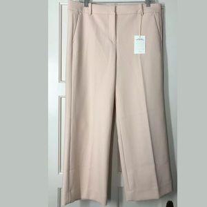 J.Crew High-rise Peyton Wide-Leg Pant Stretch Pink